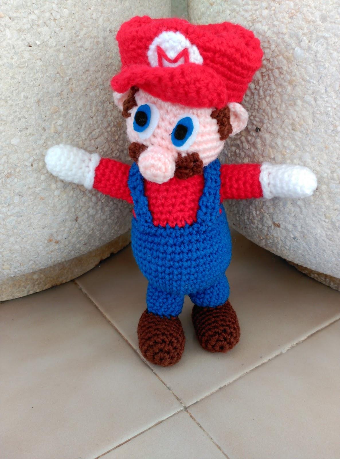 Amigurumi Mario Y Luigi : Amigurumi en la Playa: MARIO Y LUIGI