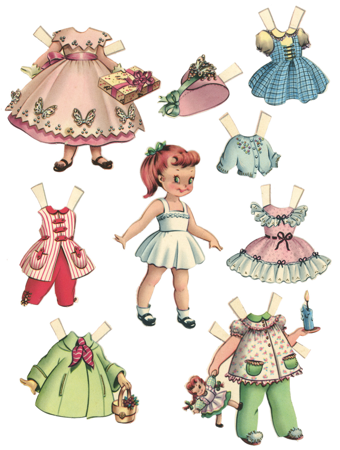 This is a graphic of Irresistible Downloadable Paper Dolls