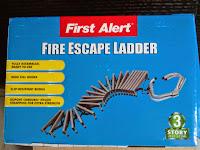 FIRE  ESCAPE  LADDER - TANGGA DARURAT