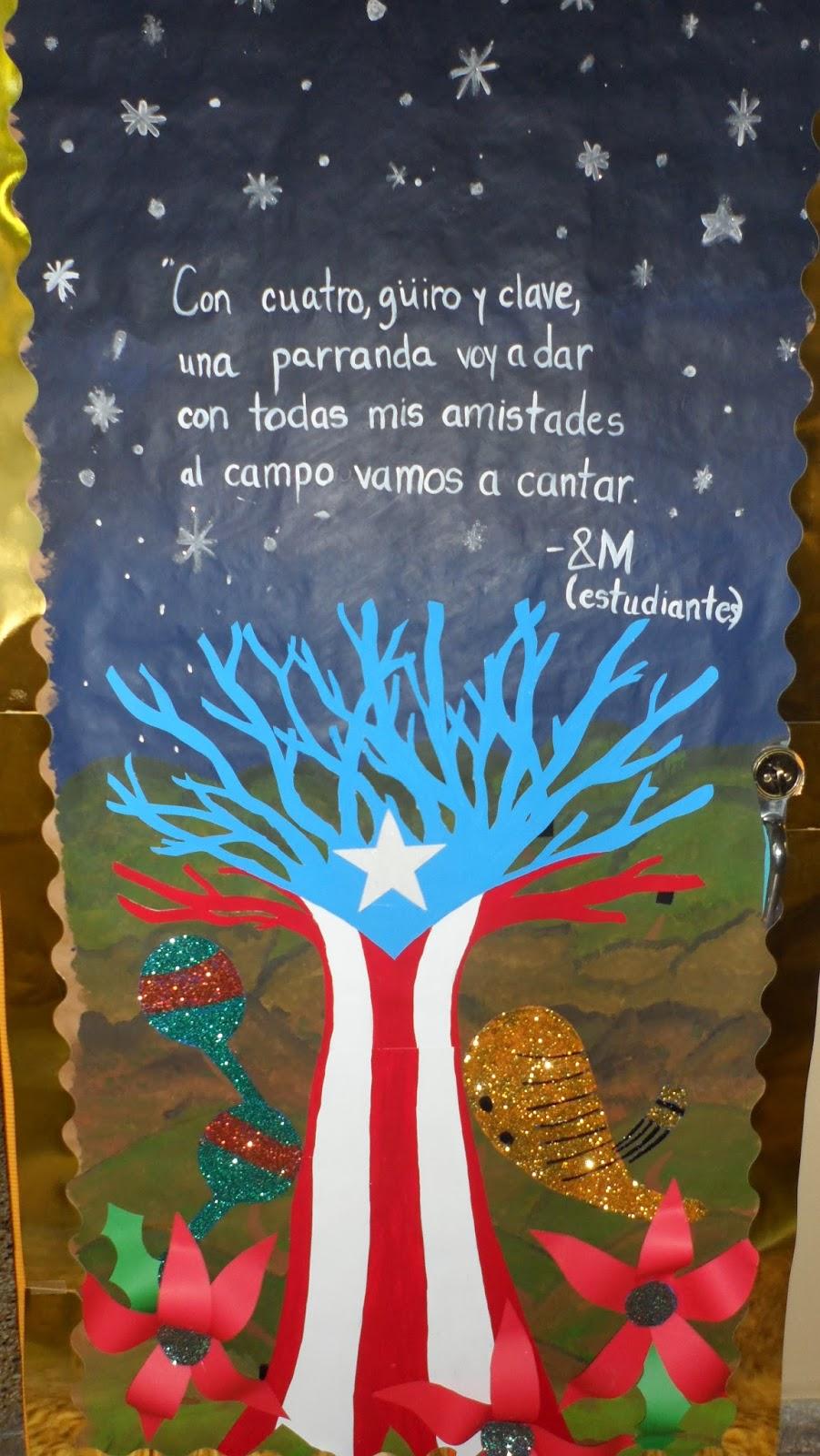 Educatools semana de la puertorrique idad manualidades - Puertas para ninos ...