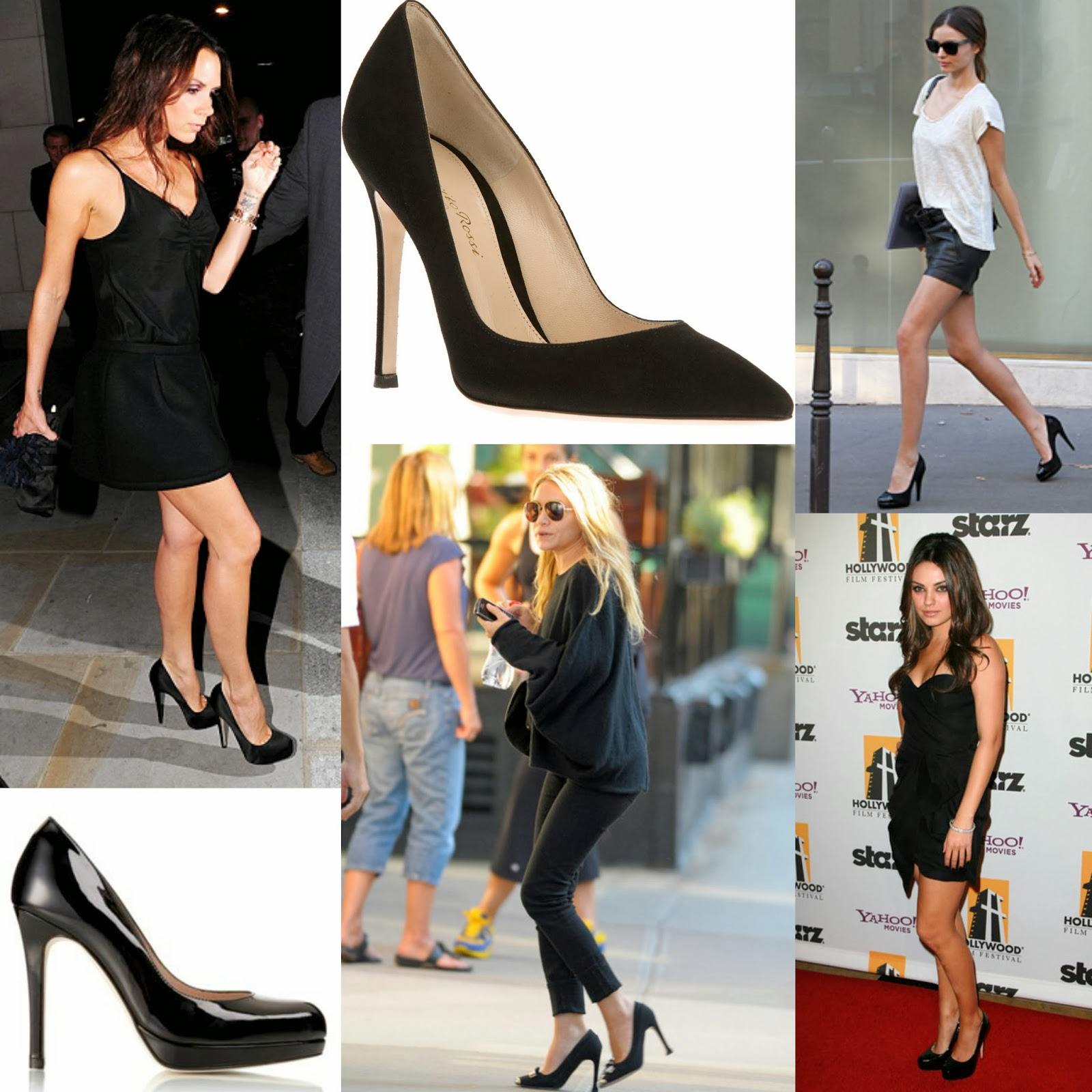 7ad268f582c0 FASHION  the best black heels out there