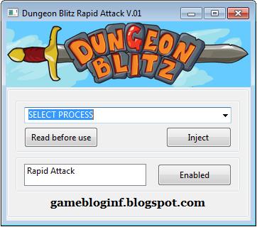 Dungeon Blitz Hack Rapid Attack