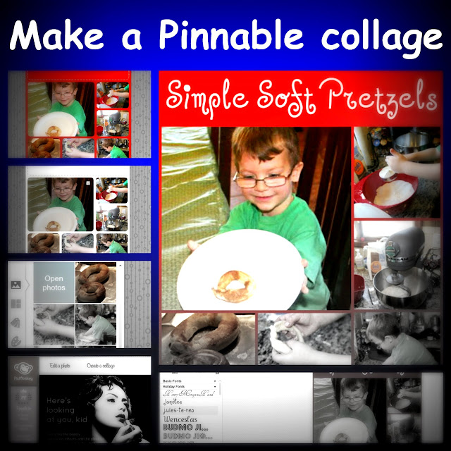 How to make a Pinterest friendly collage image