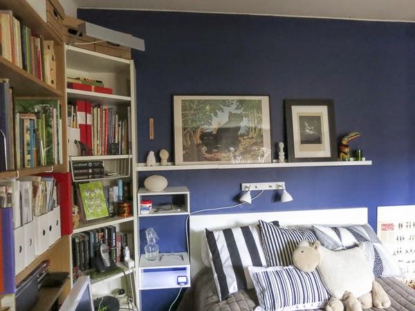 väggfärg, sovrum