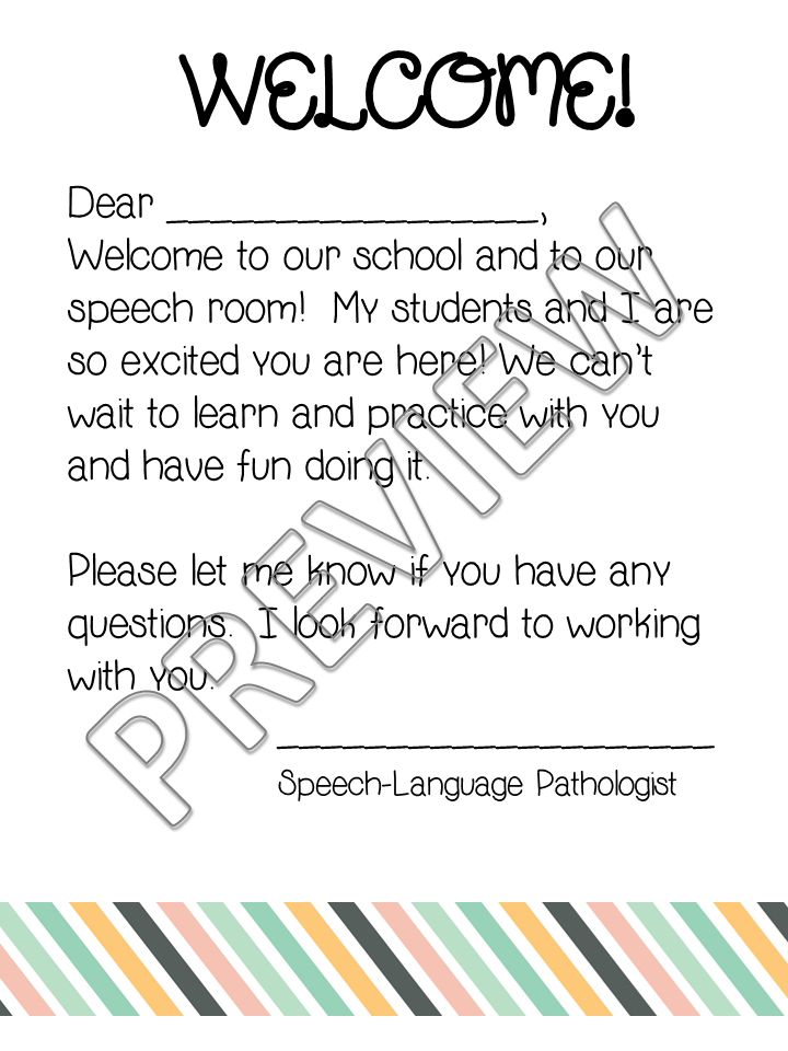 How to write a welcoming speech