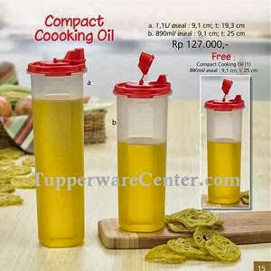 Compact Cooking Oil (2) - Tupperware Bogor - Katalog Promo September 2013 - Order PIN 268921BF -WA 082123751788