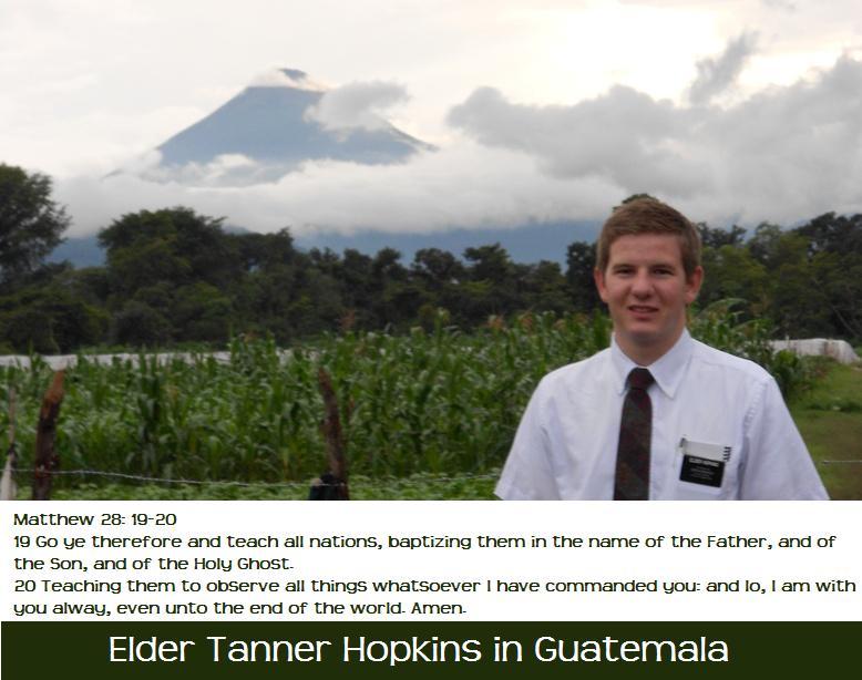 Elder Tanner Hopkins