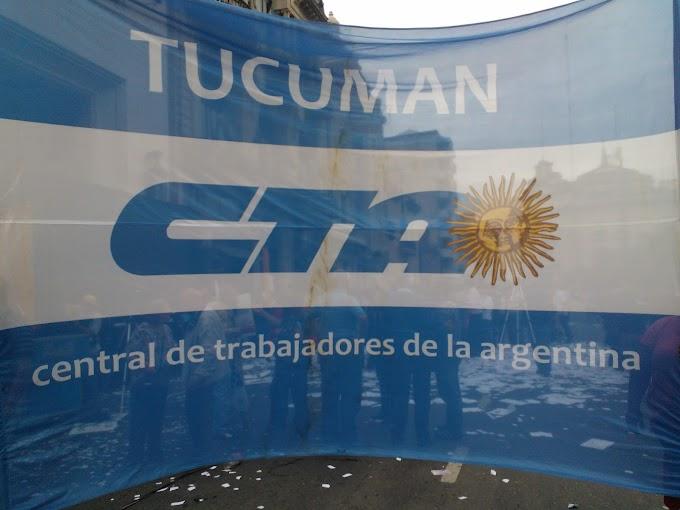 Declaración de la CTA y la Multisectorial de Tucumán. FUERA CHEVRON DE ARGENTINA