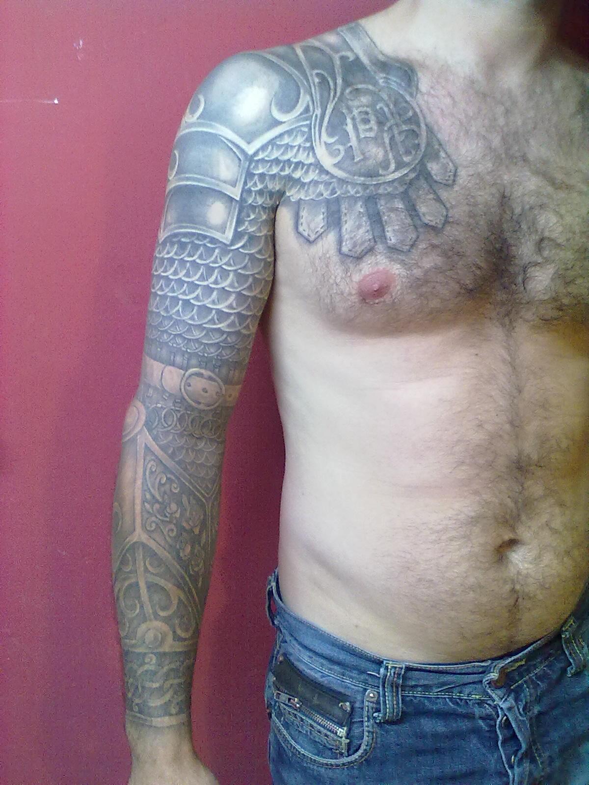 Medieval Armor Tattoos Publicado por diego villar en