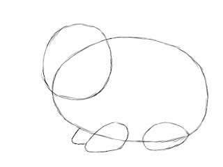 How To Draw A Bunny Step 3