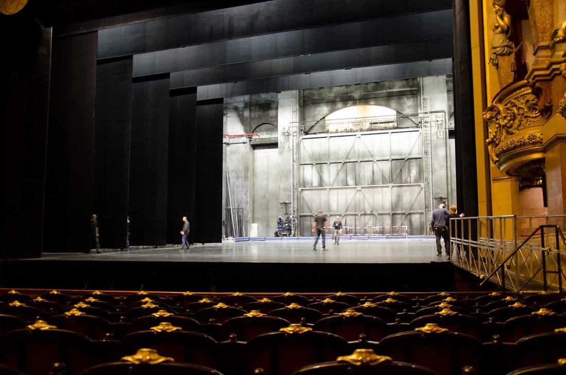 Opéra Garnier - salle de spectacle