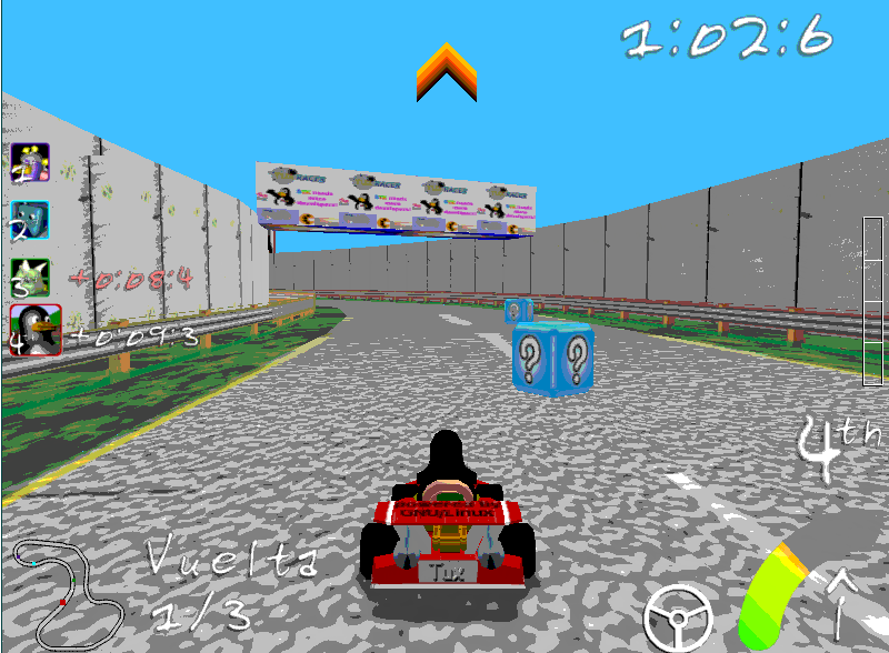 Download Game Super Tux Kart