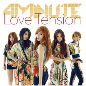Love Tension by 4minute Album Cover