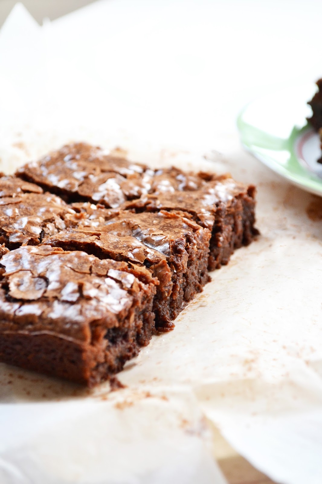 a recipe for chewy chocolate brownies