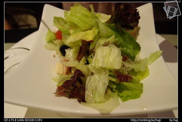2013-05-09虎尾陶板屋 道沙拉:荔香鴨胸沙拉