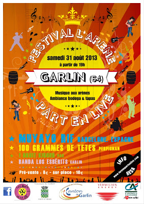 le Festival l'Arene Part en Live 2013 à Garlin
