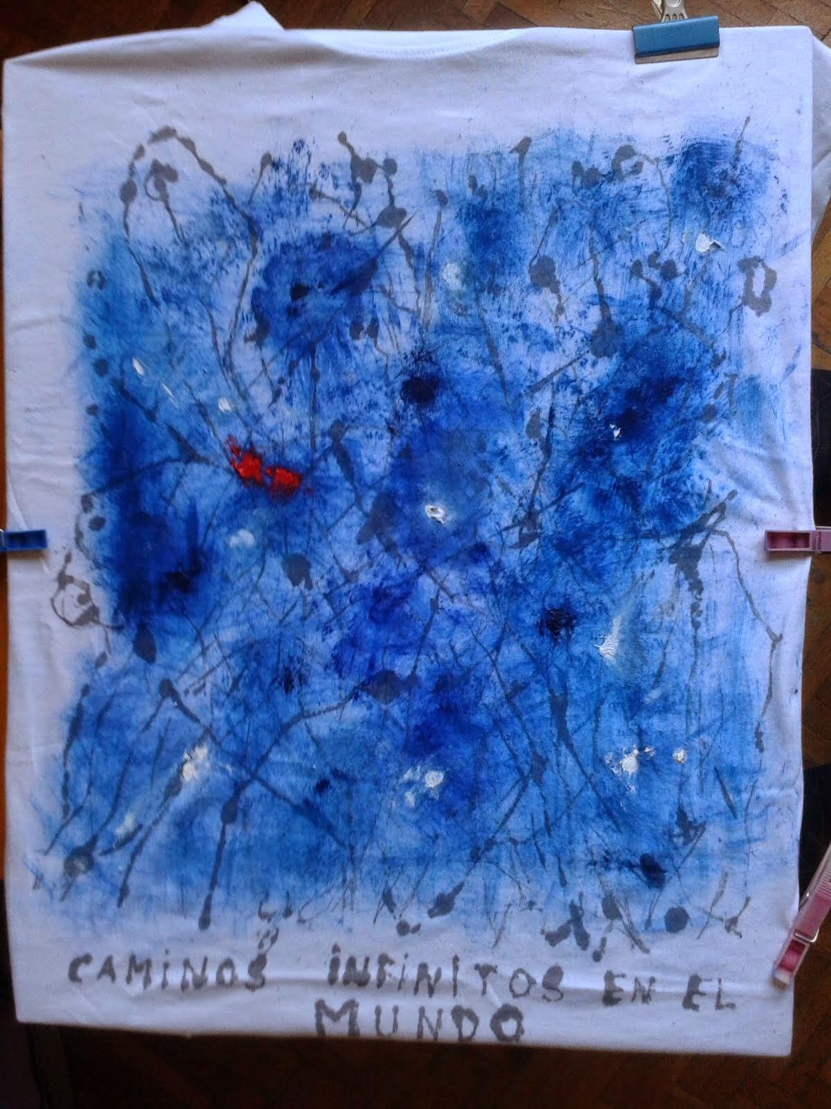 Diario de un convaleciente estampado sobre camiseta de algodón de Decathlon
