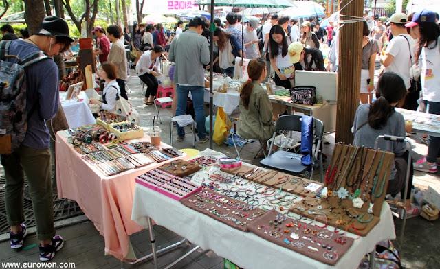 Mercado libre de Hongdae
