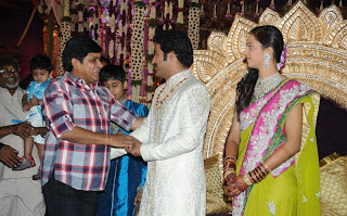 Jr. NTR, Lakshmi Pranathi Wedding Reception Stills