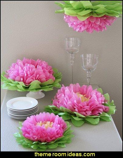 Paper Flower Poms