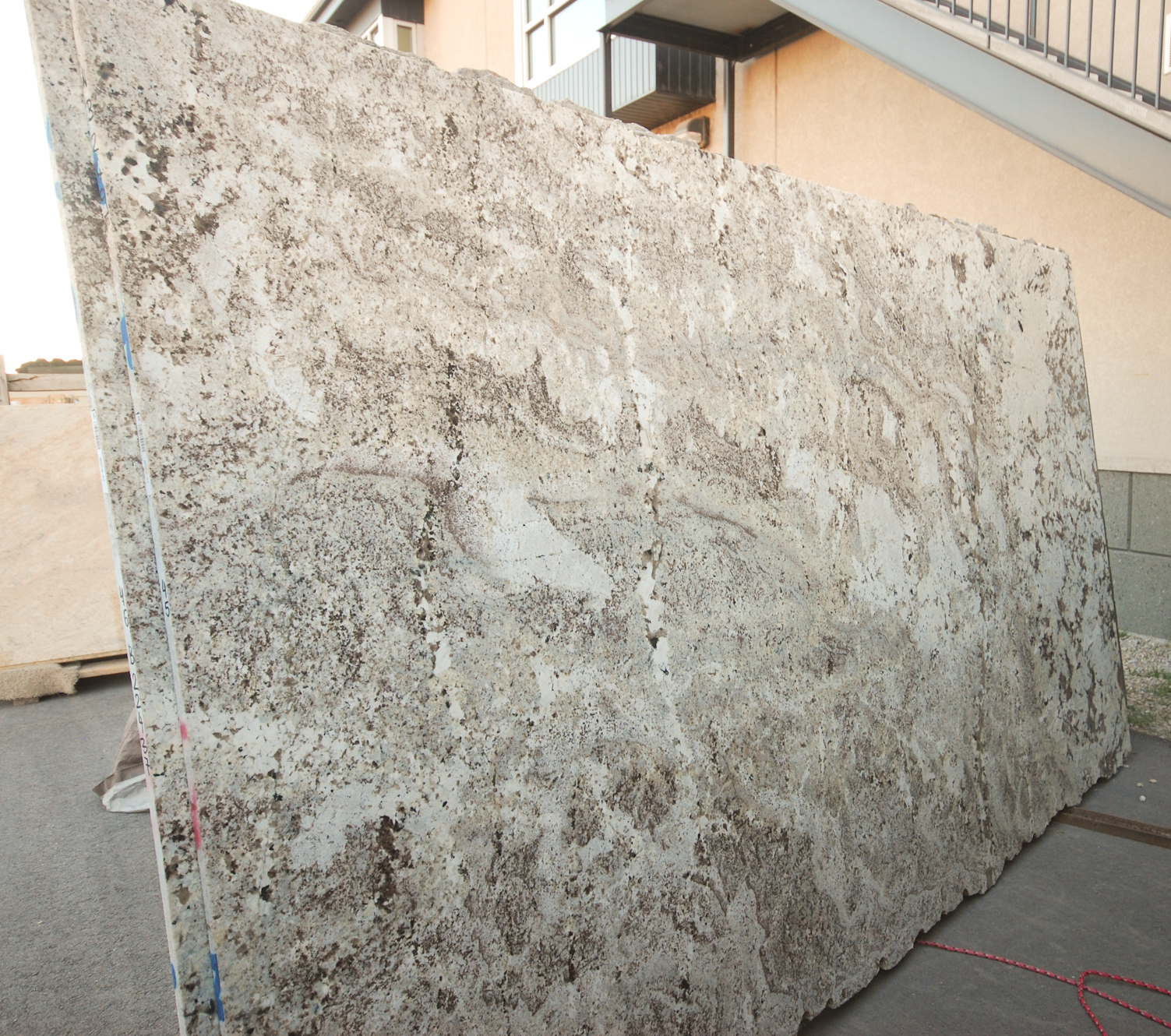 The Granite Gurus Slab Sunday Alaska White Granite