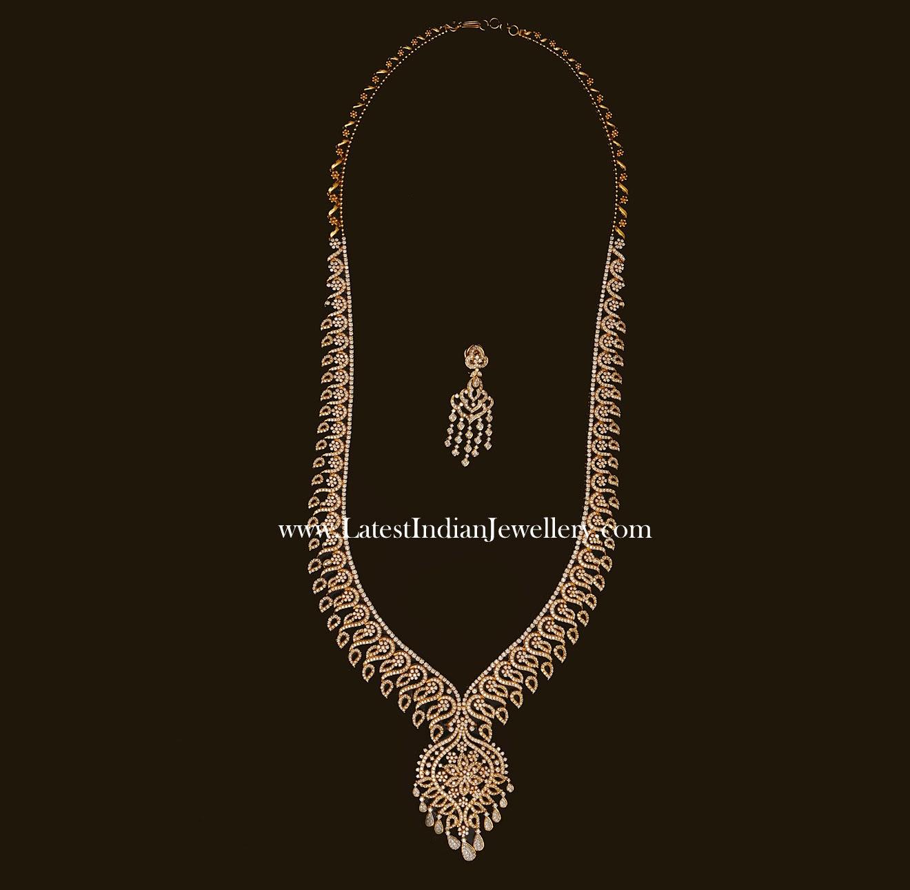 Indian Diamond Haram Design