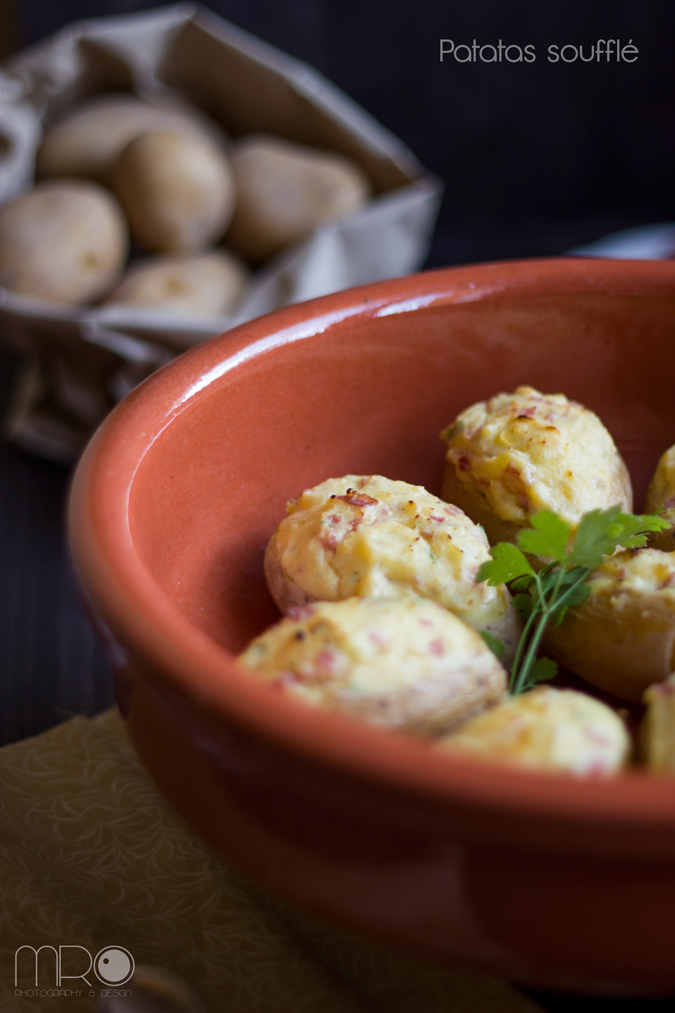 Patatas Soufle, Cocinando espero