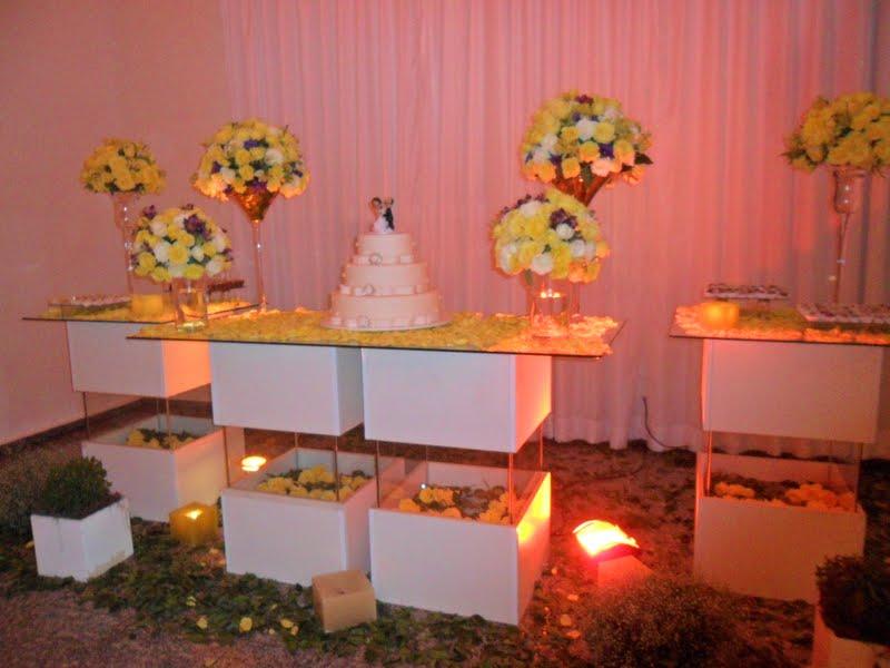 decoracao branco amarelo : decoracao branco amarelo:Ideias para casamento e festa: Decoração casamento amarelo e roxo