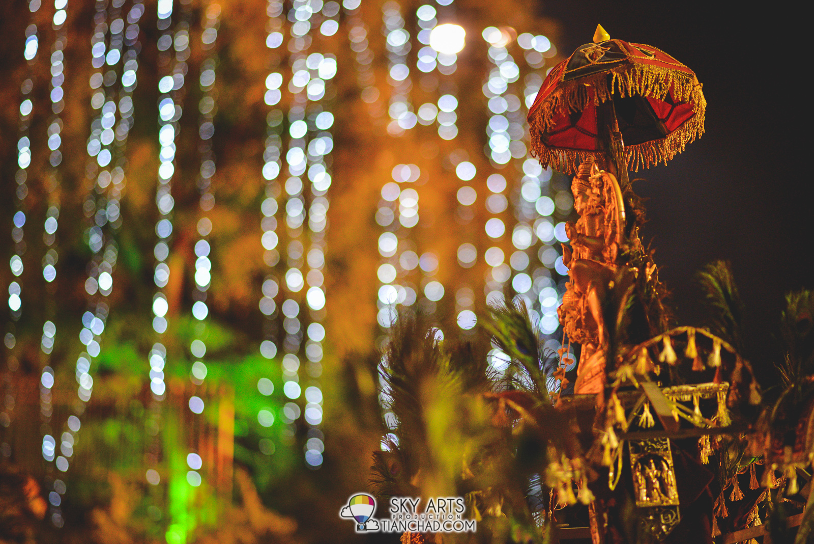 God's statue on a Kavadi