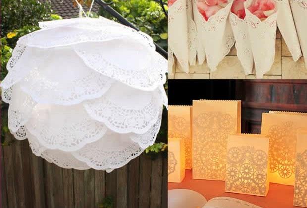 Bodas cucas l mparas de papel para decorar tu boda - Adornos con papel ...