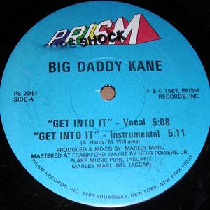 Big Daddy Kane – Get Into It (VLS) (1987) (192 kbps)