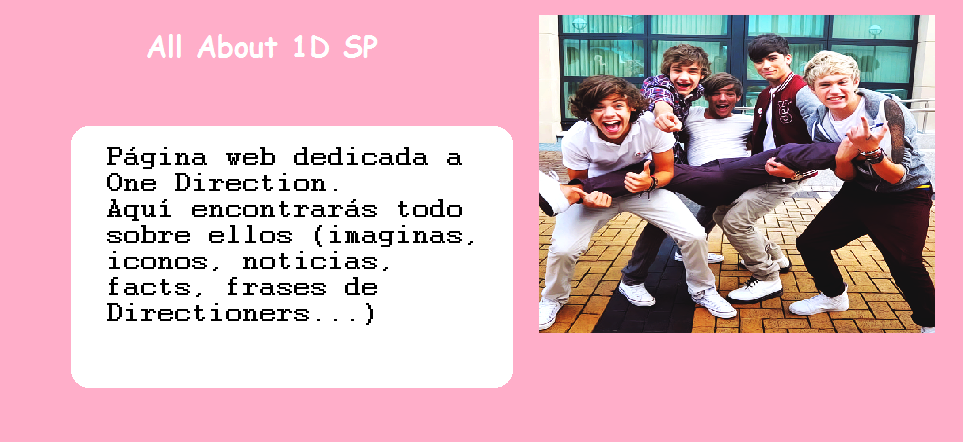 All About 1D SP