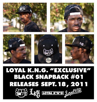 Loyal K.N.G. Atama Logo Black Snapback #01