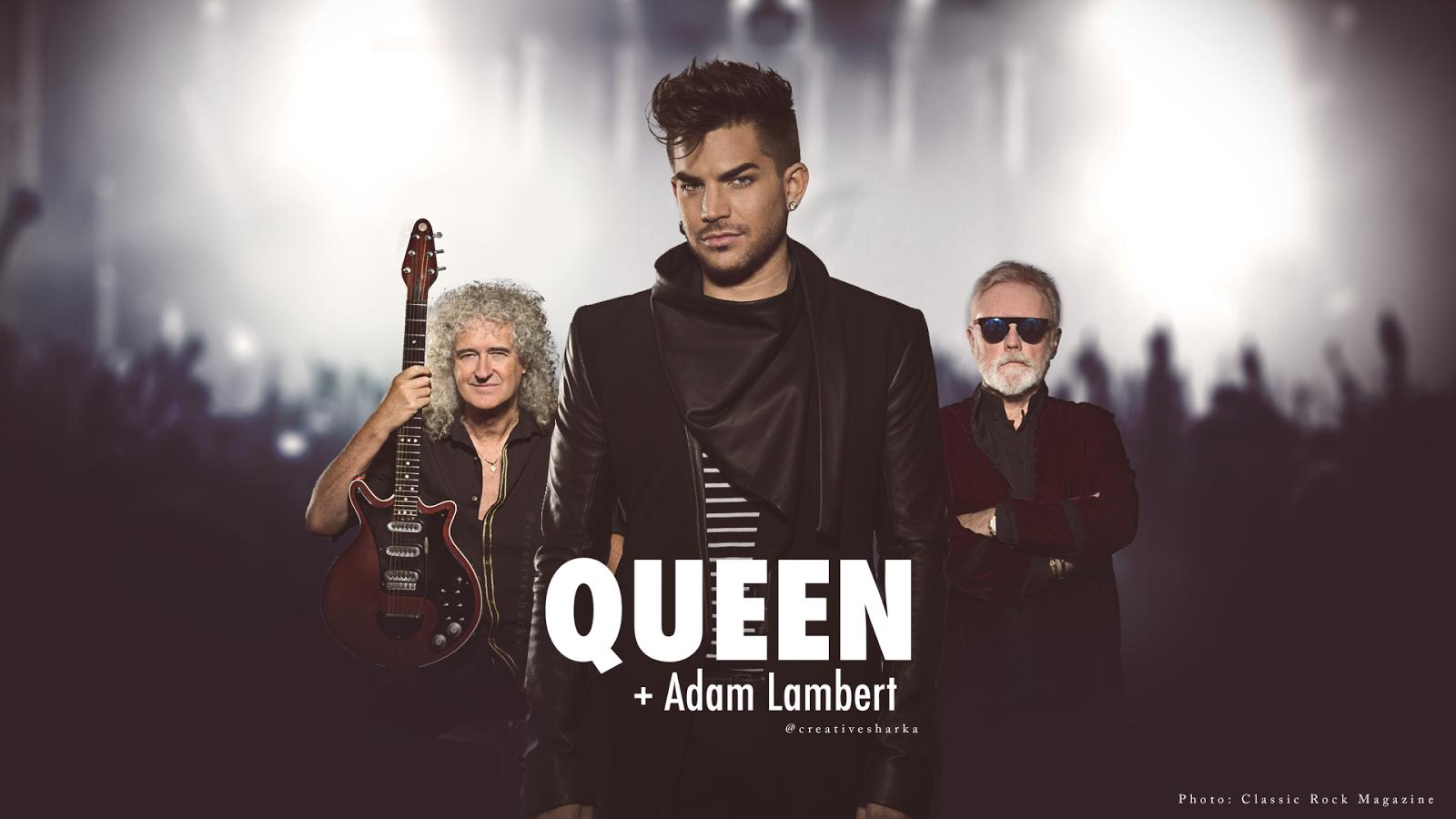 57 Wallpaper Adam Lambert Queen By Creativesharka Apte News From Billboard American Idol