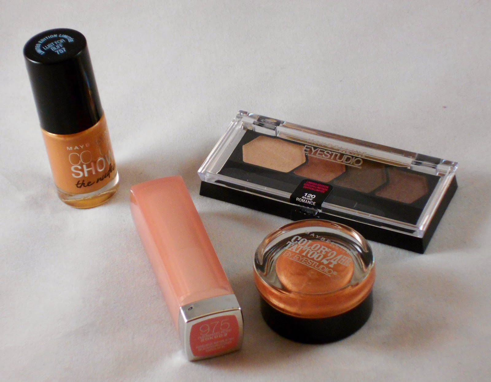 Maybelline Dare To Go Nude Collection
