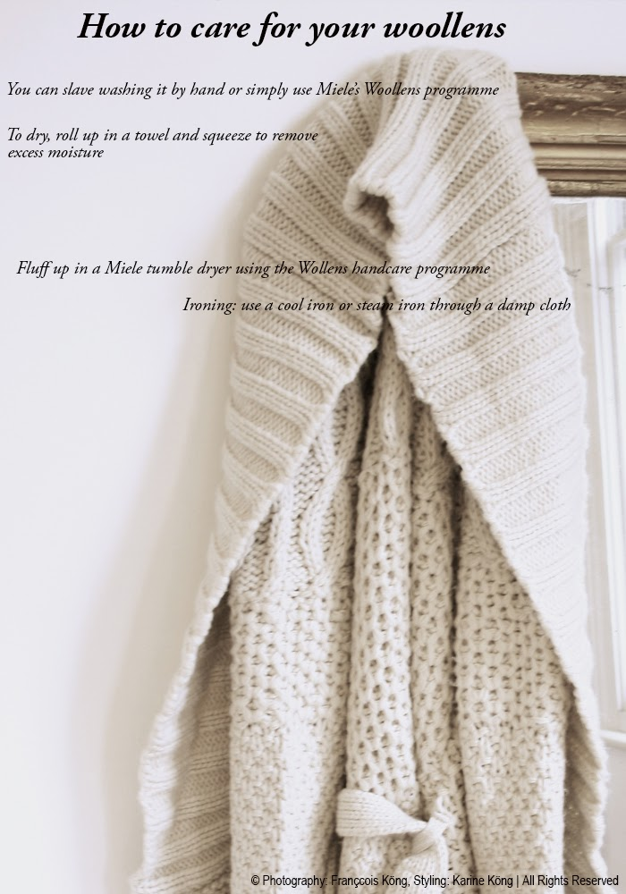 How to care for your woollens