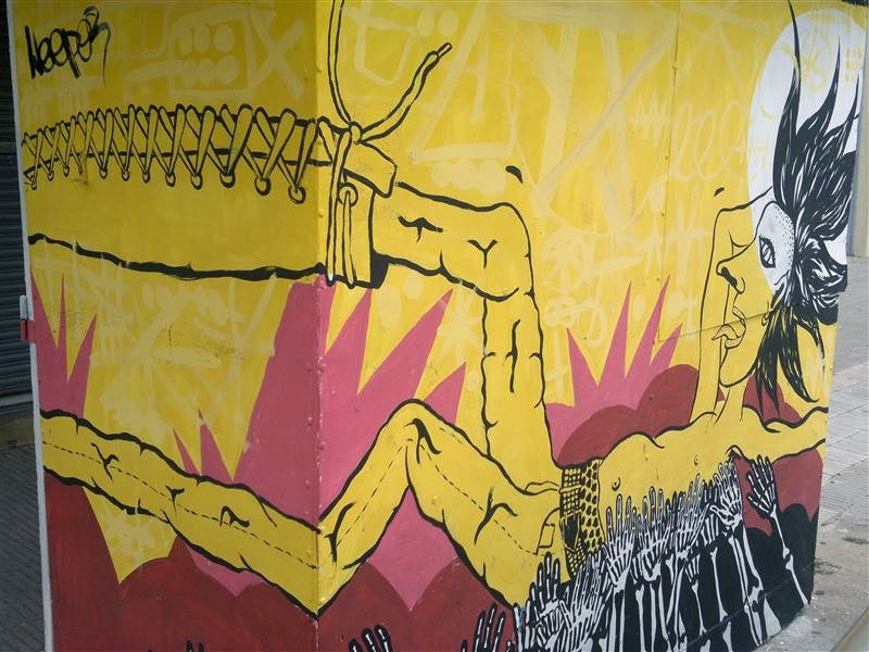 Arte Callejero en Bahía Blanca
