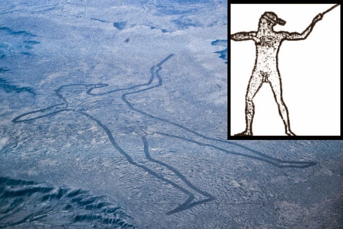 The Mysterious Marree Man of Outback Australia