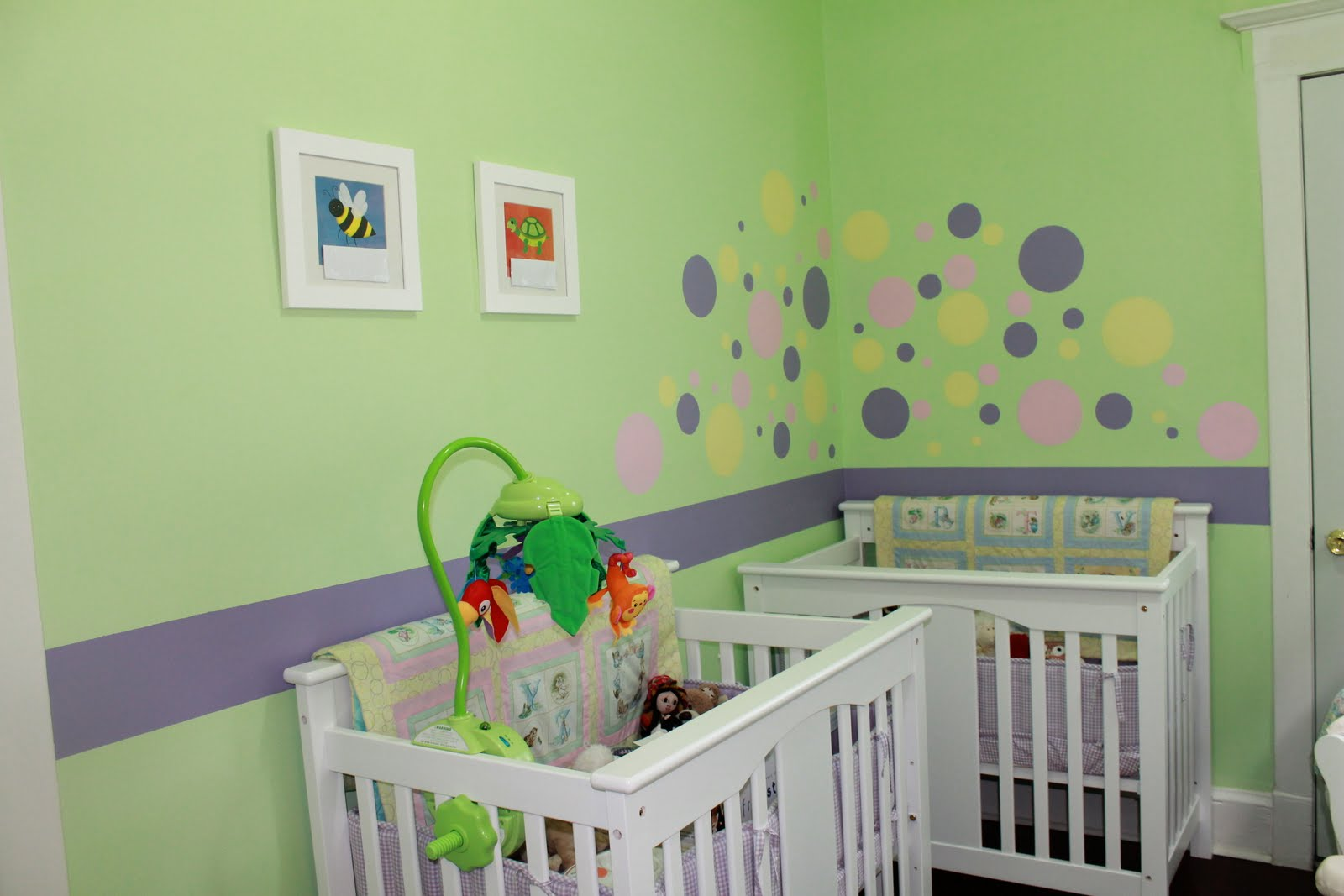 Crib for triplet babies - Anyways These Cribs Are An Amazing Solution To Small Baby Rooms They Also Convert Into Twin Beds