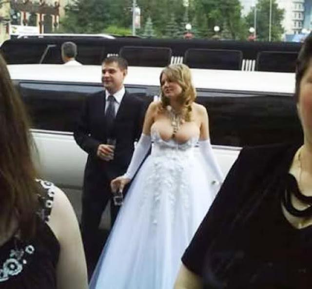 12 Fotos extremamente bizarras de casamentos