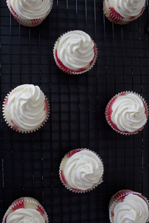 """Bloody Mary"" Cupcakes - Frightful Friday at {so sweet like sarah} #halloween #cupcakes"