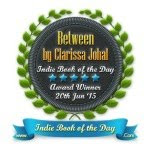 Indie Book of the Day Award - BETWEEN