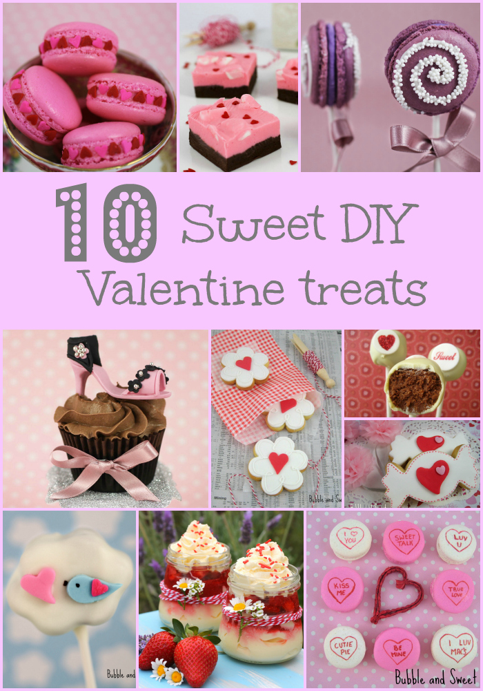 10 sweet treats to make for valentines