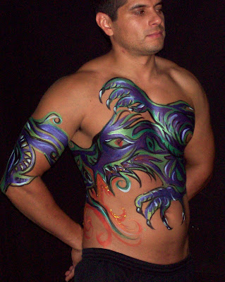 Body Art tattoos are most