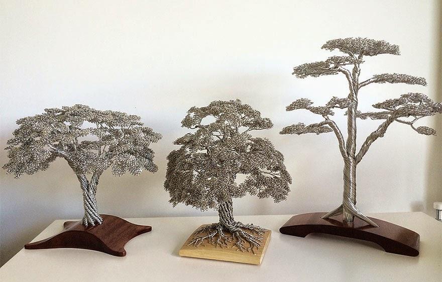Дерево своими руками проволока