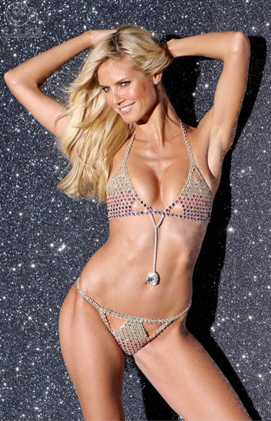Very Sexy Fantasy Bra modelled by Heidi Klum designed by Mouawad