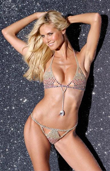 Very Sexy Fantasy Bra modelled by Heidi Klum designed by Mouawad