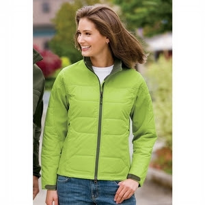 Ladies Hybrid Soft Shell Jackets