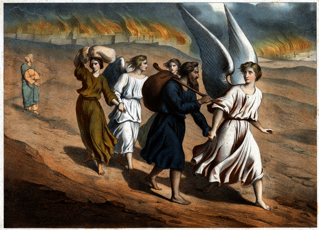 the story of lot in sodom and gomorrah Remember last week abraham had asked god if he would spare the wicked cities of sodom and gomorrah if there  sodom pushed lot and  story.