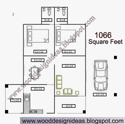 1000 square feet kerala model house plan wood design ideas for Kerala model house plans 1000 sq ft